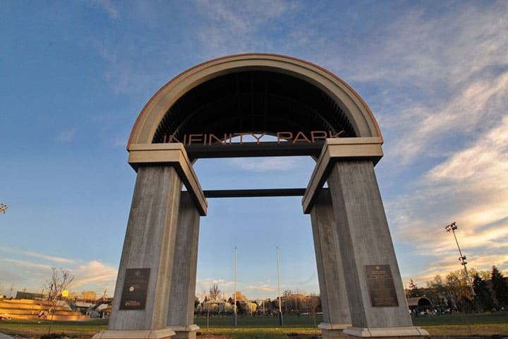 The Arch at Infinity Park