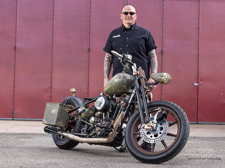 Lieutenant rebuilds The Warrior motorcycle for Veterans